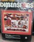 Dimensions Needlepoint Kit Holiday Train 2126 18 x 14 New Some Wear To Package