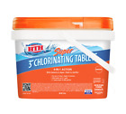 HTH Super 3 inch Chlorinating Tablets for Swimming Pools 8 lbs Chlorine