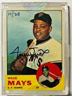 2004 Topps Originals Signature Edition Autograph 1963 #300 Willie Mays 10 of 25