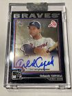 Orlando Cepeda 2004 Topps Archives Certified On-Card Auto Signature Autograph