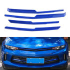 Blue Front Grille Decorative Strips Frame Cover Trim for Chevrolet Camaro 2017+