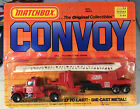 Vintage Matchbox Convoy CY12 Peterbilt Fire Engine Truck In Box