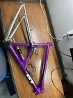 20 Vintage GT RTS 3 Mountain Bike Frame Full Suspension Purple Anodized