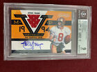 Steve Young 2011 Timeless Treasures MVP Materials Game Used Relic Auto 1 5 BGS 9
