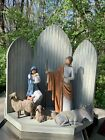 Willow Tree The Christmas Story Large 24 Nativity Set Figures Animals Backdrop