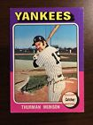 Top 10 Thurman Munson Baseball Cards 16