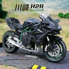 112 Alloy Motorcycle Kawasaki H2R XDiavel Diecast Racing Motorcycle Model Toy M