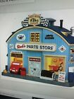 Lemax Christmas Village Rod's Parts Store (2014) Now Retired # 45707 New in Box
