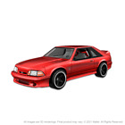 Hot Wheels RLC 1993 Ford Mustang Cobra R Fox Body PRE ORDER  Red Real Riders