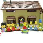 Extra Minifigures! Lego The Simpsons House (71006) 99.999% Complete Build