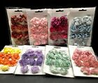 KaiserCraft Paper Bloom Roses Flowers Embellishment Scrapbooking Lot 8 Packages