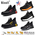 Mens Work Safety Shoes Steel Toe Bulletproof Boots Indestructible Sneakers 8 13