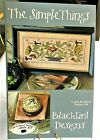 Blackbird Designs Cross Stitch Pattern The Simple Things Loose Feathers 36