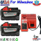 For Milwaukee M18 XC 50 60AH Extended Lithium Battery 48 11 1890 Fast Charger