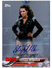 Stephanie McMahon 2018 Topps WWE Autograph Card Wrestling Auto Silver 25