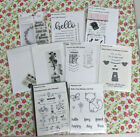Clear Stamp  Die Lot of 9 Papertrey Ink Celebrate Everyday Button Sassy