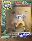 1998 Starting Line-Up BART STARR Gridiron Greats NFL Football Action Figure NEW