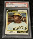 1974 Topps #252 Dave Parker Pittsburgh Pirates Rookie Card PSA 7 Near Mint