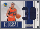 2009 10 PANINI NATIONAL TREASURES STEPHEN CURRY RC ROOKIE COLOSSAL PATCH 25 #10