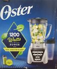 NEW Oster Blender Pro 1200 with Glass Jar 24 Ounce Smoothie Cup Brushed Nickel