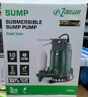 Brand New Zoeller 1 3 HP 48 GPM Cast Iron Submersible Sump Pump 1052 Free Ship