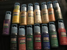 Lot of 15 Gallery Stained Glass Window Color Plaid 2 Oz Paint Sealed Unused RARE