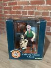Wallace and Gromit Talking Alarm Clock 1995 New