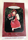 Hallmark 1999 Rose Angel Ornament The Language of Flowers Red Collector's Series