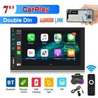 7 Car Apple Andriod carplay Double 2Din Touch Screen Stereo Bluetooth Radio