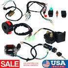 50cc 125cc CDI Wire Harness Stator Assembly Wiring Kit For Chinese ATV Quad Quad
