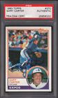 Gary Carter Cards, Rookie Cards and Autograph Memorabilia Guide 44