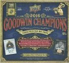 █ █ $79.85-$101.15 █ 2016 █ Upper Deck █ UD █ Goodwin Champions █ Hobby Box █ █