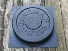 Make Your Own Weights 25 LBS Olympic Concrete Weight Mold Made in USA