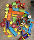 Lot of 8 Cars VTech Go Go Smart Wheels Cars  airport track peices 50+ Pieces