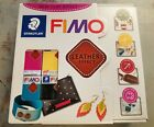 NEW FIMO Leather Effect Clay Lot of 36 Assorted Colors 2oz Pkgs