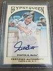 2011 Topps Gypsy Queen Mike Stanton (Giancarlo) RC Auto. Marlins Autograph.