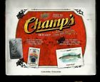 2015-16 Upper Deck Champs Factory Sealed Hobby Box
