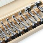 New 16Pcs Forstner Woodworking Drill Bit Set Boring Hole Saw Cutter Wood Tool