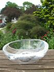 NOS Orrefors Sweetie Snowflake Crystal Accent Bowl Martti Rytknen