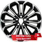 New 17 Black and Machined Alloy Wheel Rim for 2014 2015 2016 Toyota Corolla S