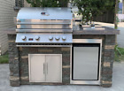Premier Island Grill with Bar Setup Hana Outdoor Kitchen WE BEAT ALL PRICES