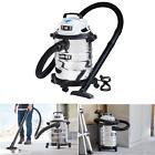 SHOP VAC WET DRY VACUUM 6 Gal 50 HP Stainless Steel With Attachments