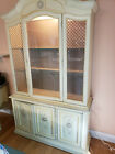 Italian style china cabinet excellent condition