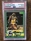 Larry Bird Rookie Cards and Autographed Memorabilia Guide 52
