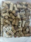 1000 Corks 100  NATURAL wine CORKS Huge Assortment Of Authentic Labels 10+ Lbs