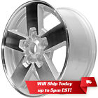 New 17 Machined and Silver Alloy Wheel Rim for 2006 2010 Jeep Commander 9097