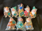 Disneys Snow White and the Seven Dwarfs 1994 Complete Set of Dolls by Applause