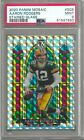 2020 Panini Mosaic AARON RODGERS Stained Glass Prizm SG6 SSP PSA 9 MINT