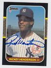Rickey Henderson Cards, Rookie Card and Autographed Memorabilia Guide 46