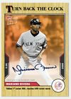 Auto # to 5 Mariano Rivera 2021 TOPPS NOW Turn Back The Clock Card 89D Presale